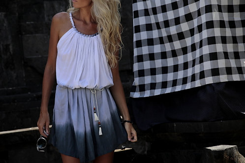 Šaty colors - šedé