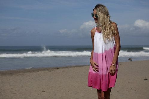 Šaty colors - růžové