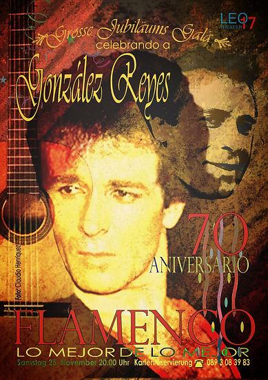 González Reyes Jubiläumsgala
