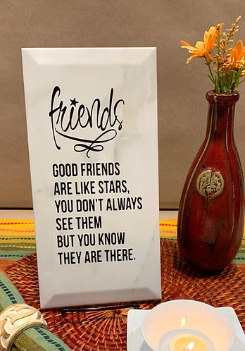 """Plaque """"Friends are Like..."""""""