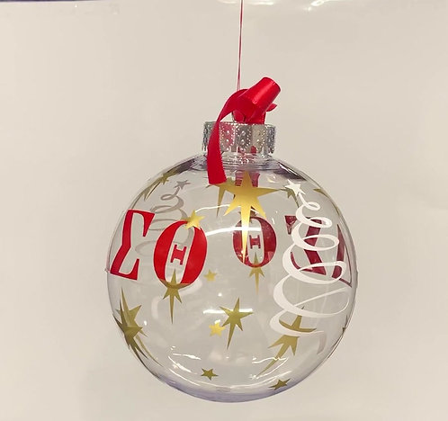 Greek Ornaments with Gold Stars and Gift Box/Ribbon included!