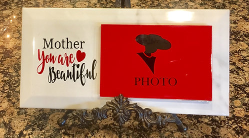 """Photo Plaques """"Mother You Are Beautiful"""""""