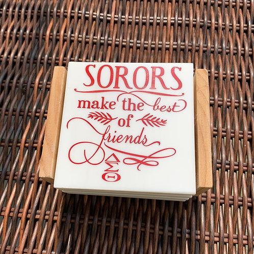 Sorority Coaster Sets