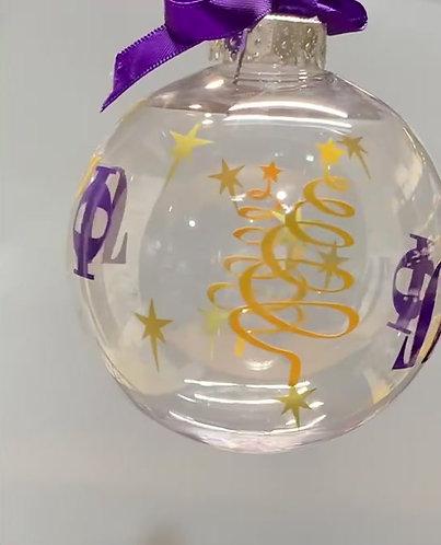 """Christmas Bulb """"Omega"""""""
