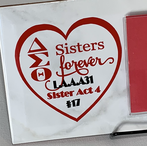 """Photo Plaque """"Sisters Forever"""""""