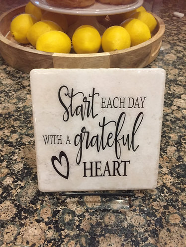 """3 in 1 Trivet """"Start Each Day With A ..."""""""