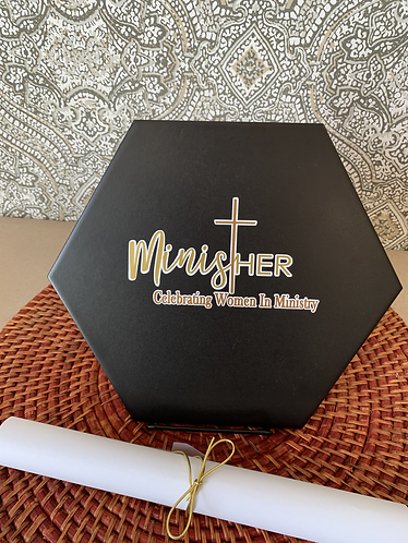 Customized Ministry Plaque