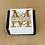 "Thumbnail: Coaster Set ""Monogram"""