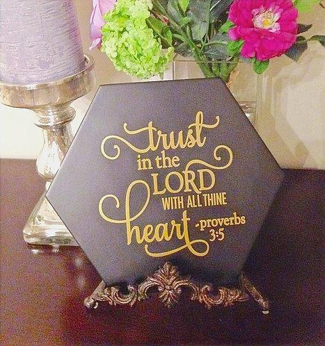 Plaque of Faith