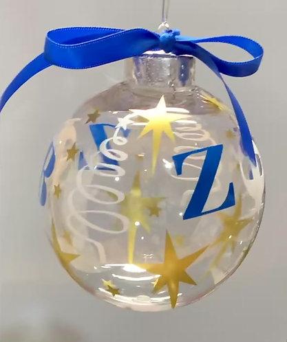 Zeta Christmas Bulbs