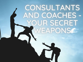 Consultants and Coaches - Your Secret Weapons