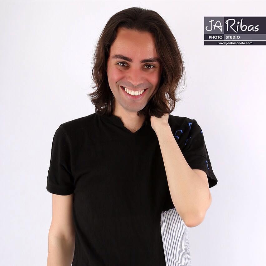 Sesión en el estudio de JA Ribas