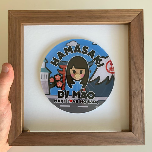 5-inch Mao Disc Vinyl + Frame (with Signature)