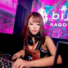 Dj Mao Hamasaki DJing