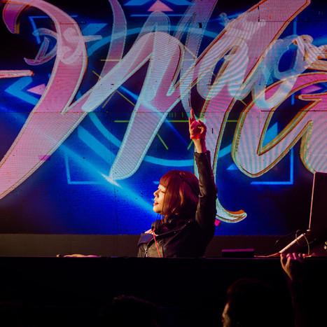 Dj Mao Hamasaki (浜崎真緒) DJing