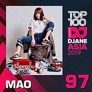 Mao Hamasaki in Top 100 Djane Asia 2019