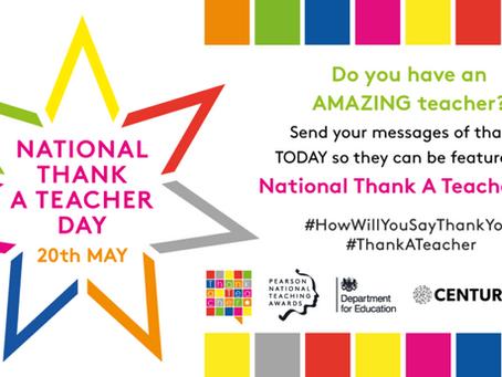 National Thank A Teacher Day!