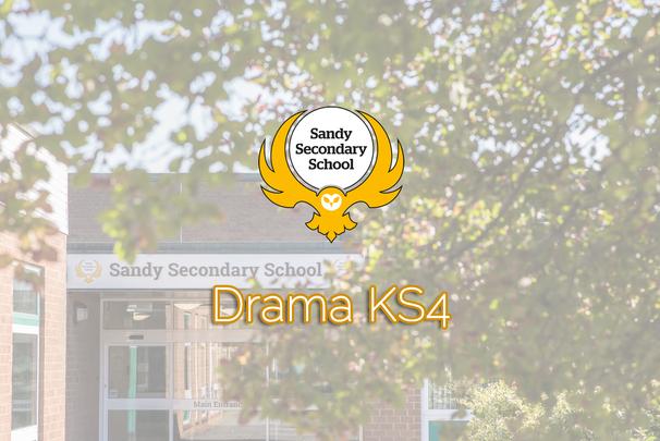 Drama KS4