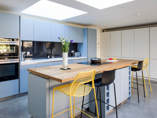 A recently completed kitchen......stunning!