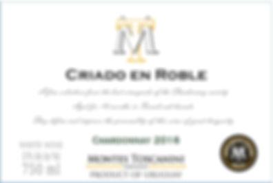 Criado en Roble Chardonnay Front.JPG