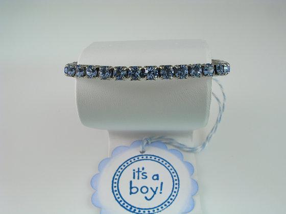 It's a Boy Crystal Bracelet