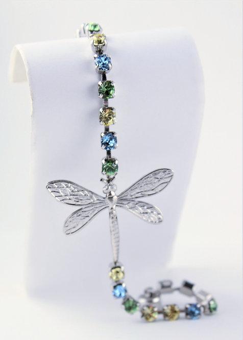 Dragonfly Rhinestone Bracelet