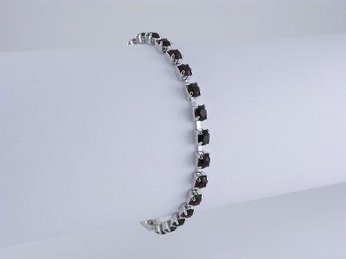 Garnet Rhinestone Bracelet