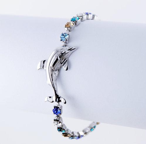 Dolphin Rhinestone bracelet