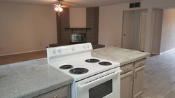 Open Kitchen with Granite Counters