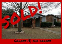 Colony 18, The Colony