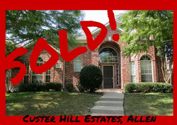 Custer Hill Estates, Allen