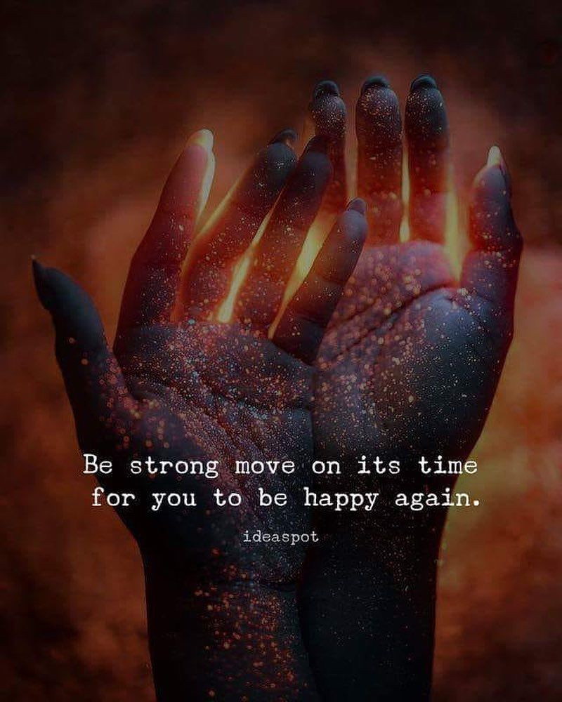 Be strong, Move on.  It's time for you to be happy again.