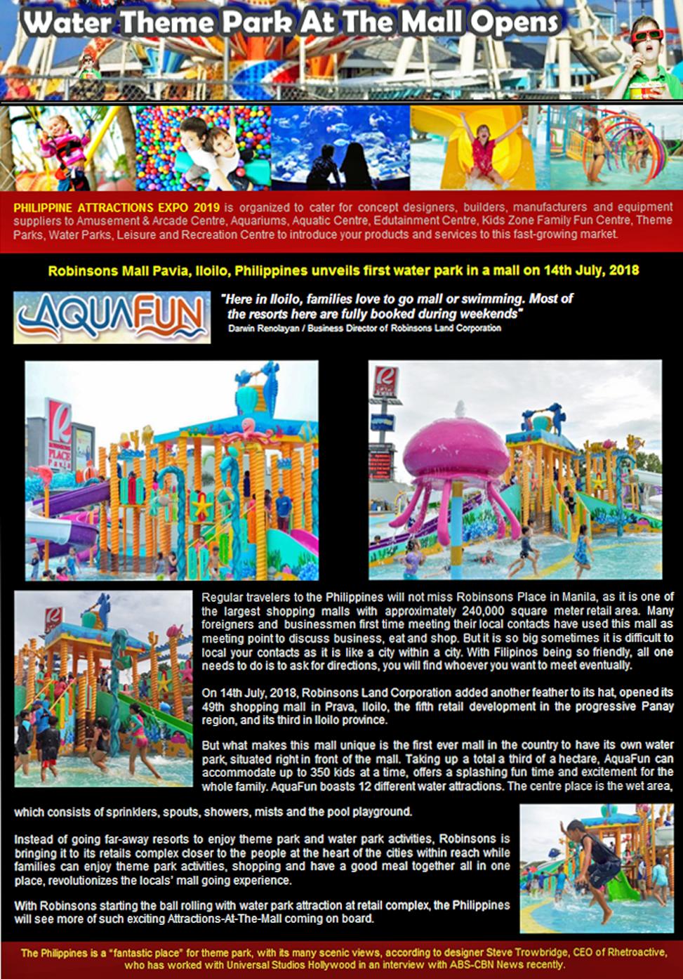 NR3 - PAExpo2019 News Release 3 (AquaFun