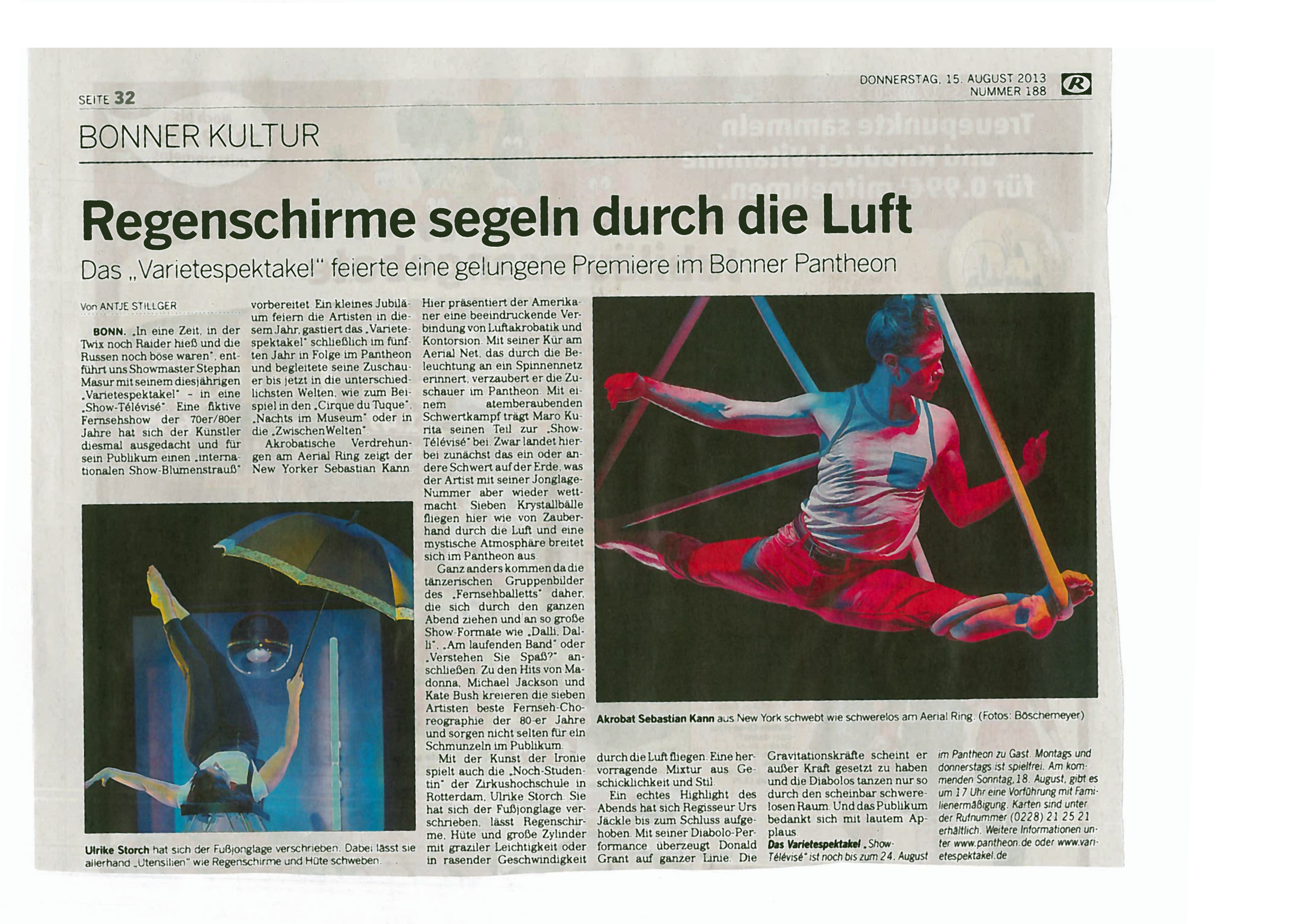 Bonn newspaper review