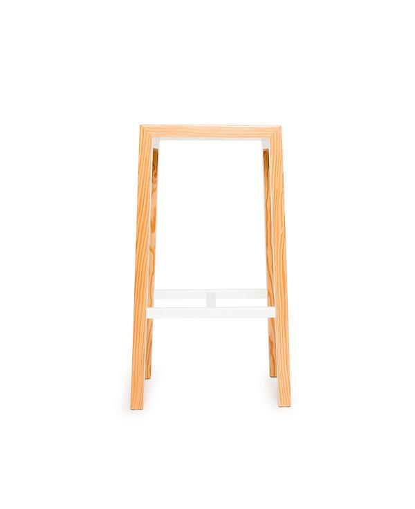counter height stool, kitchen stool, wood stool, designer stool, modern stool, west caost modern