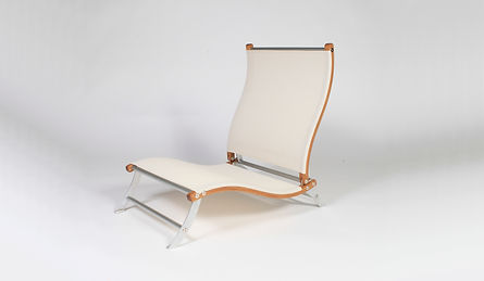 The most comfortable beach chair ever designed. Light weight and compact.