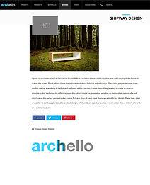 archello, romney shipway, shipway living design