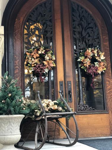 front doors and sleigh.jpg