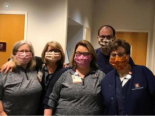 Prop Members Sew Masks