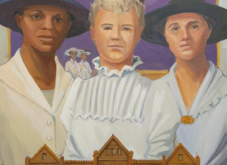Suffrage Artwork on Display
