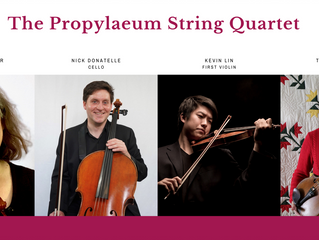 String Quartet from ISO to Play at Prop in July