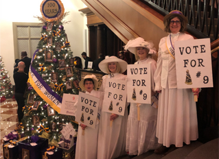 Suffragists Represented at Opening Reception