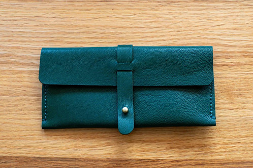 Olive Green Genuine leather case by SPARK x EMIKAWA