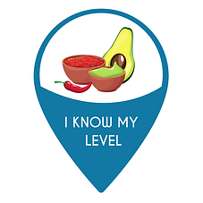 Know level Spanish pin.png