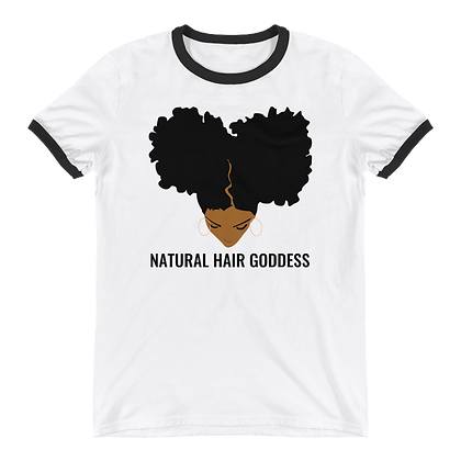 Caramel Goddess Ringer T-Shirt