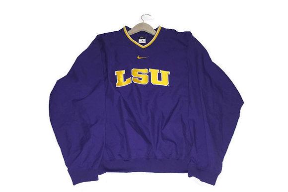 LSU Nike Coach's Pullover
