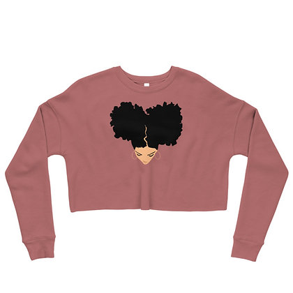 Light Skin Goddess Cropped Sweatshirt