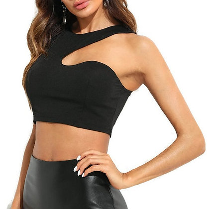 Asymmetrical Crop Top