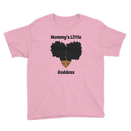 Caramel Mommy's Little Goddess Youth T-shirt