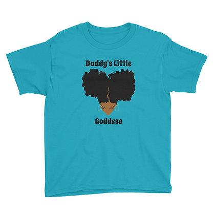 Caramel Daddy's Little Goddess Youth T-shirt